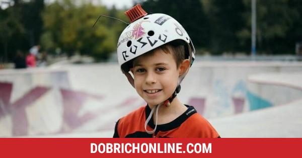 10-годишен скейтър от Добрич – бъдещият Тони Хоук – 2019.10.20 – Спортни