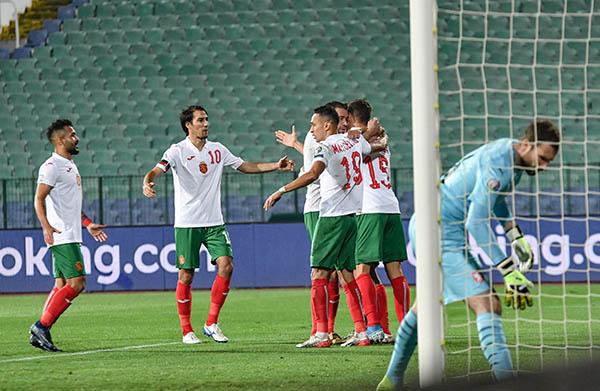 13 месеца по-късно, националите на България с победа