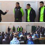 Хубчев, Костов и Стаси зарадваха децата от Спортното училище в град Сандански (ВИДЕО) | KotaSport