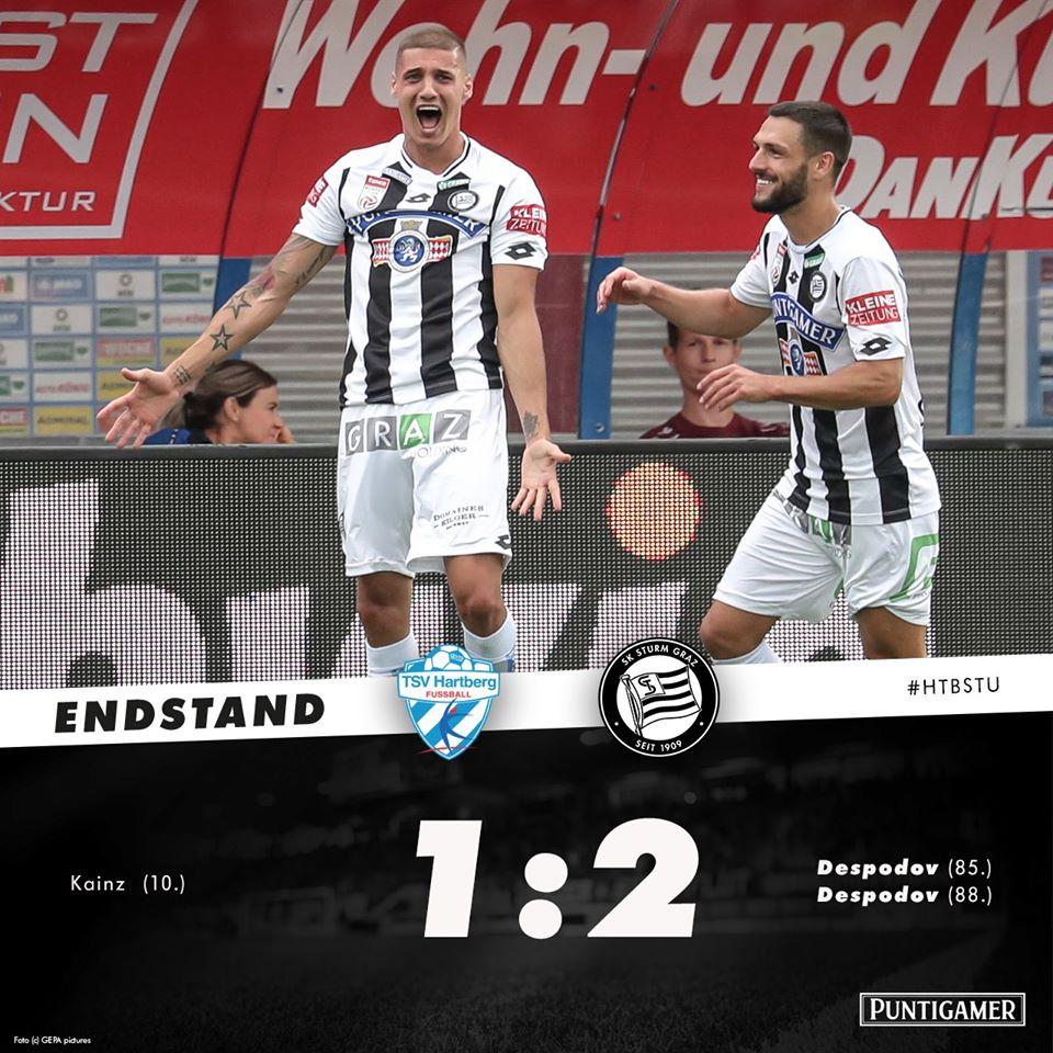 Десподов герой в Австрия!Избухна с два гола!