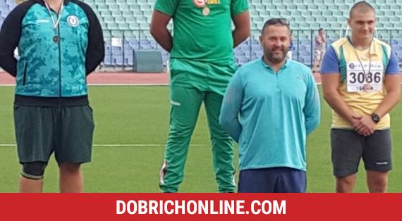 Тодор Петров отново достигна до титлата в тласкането на гюле – 2020.07.20 – Спортни