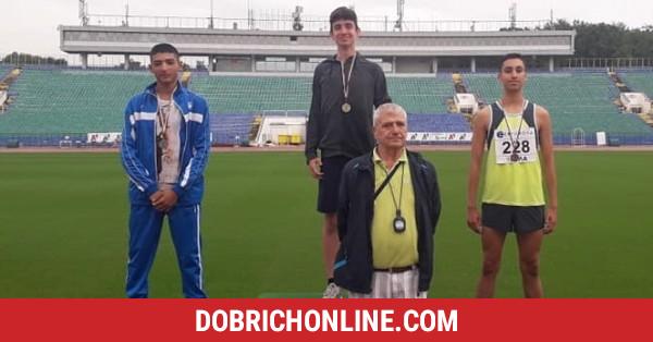 Петър Димов се окичи с бронз при юношите под 18 години – 2020.07.19 – Спортни