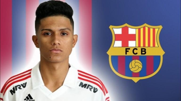Барселона се сдоби с 19-годишен нападател
