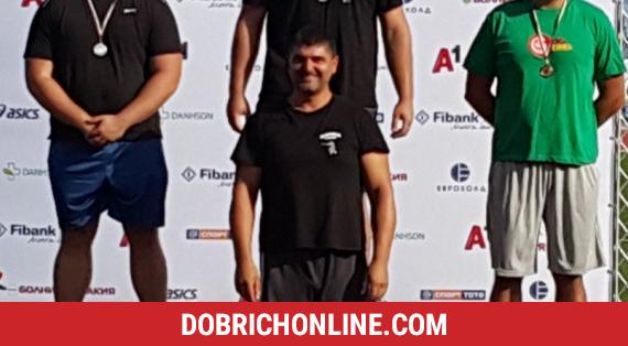 """Два медала взеха атлетите от СКЛА """"Добрич"""" при мъжете – 2020.08.10 – Спортни"""