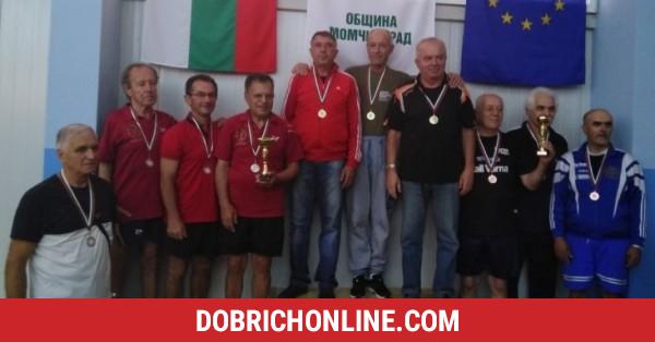 До куп медали достигнаха ветераните от региона в шампионата по тенис на маса – 2020.09.28 – Спортни