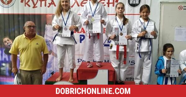 """7 златни, 3 сребърни и 5 бронзови медала спечелиха каратеки от клуб """"Самурай"""" – 2020.10.05 – Спортни"""