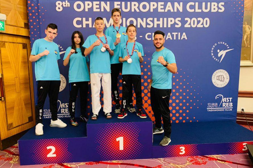България с 2-ма европейски шампиони по Таекуон-До