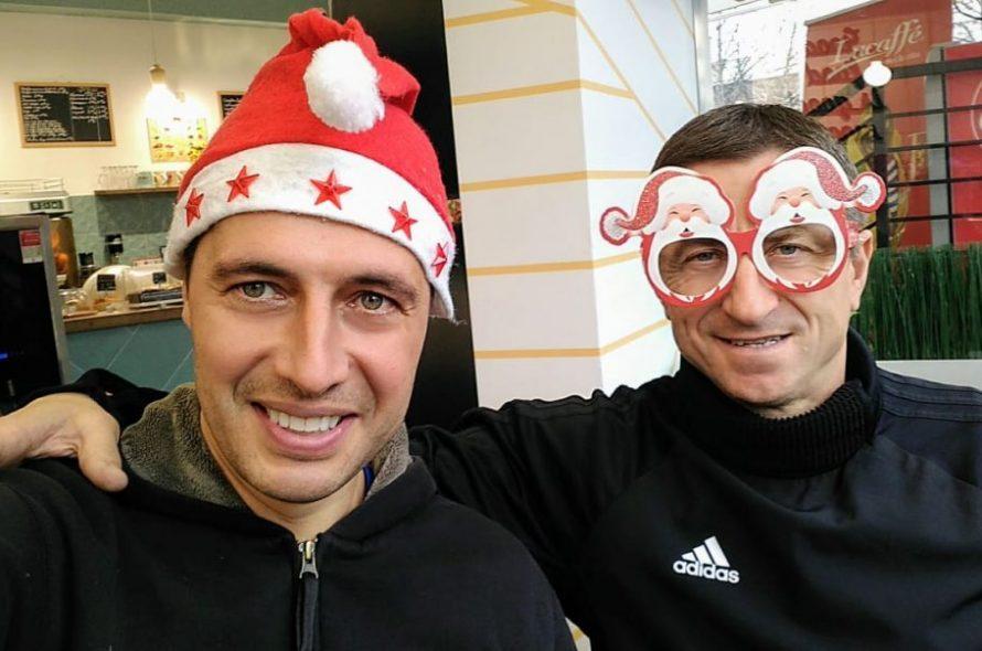 Легенда на ЦСКА и Кирил Евтимов изненадаха приятно футболни таланти в Нигерия (ВИДЕО) | KotaSport
