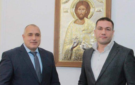 Бойко Борисов пожела успех на Кубрат Пулев срещу Джошуа