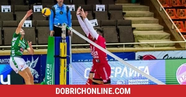 """В осмицата за купа """"България"""" влязоха добричките волейболисти – 2021.01.27 – Спортни"""