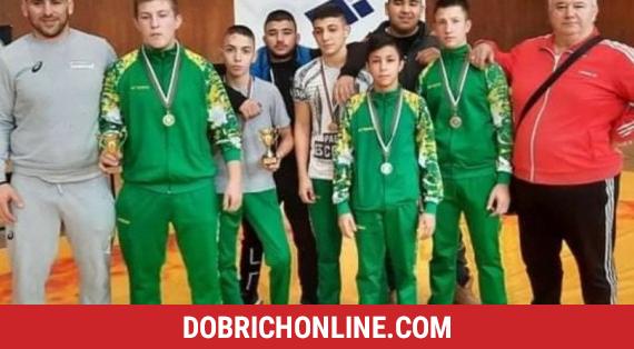 """С пет медала влязоха в 2021 година борците от СК """"Добруджански юнак"""" – 2021.01.18 – Спортни"""