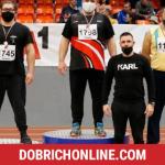 Галин Костадинов с трето място от Национален шампионат за мъже и жени по лека атлетика – 2021.02.08 – Спортни