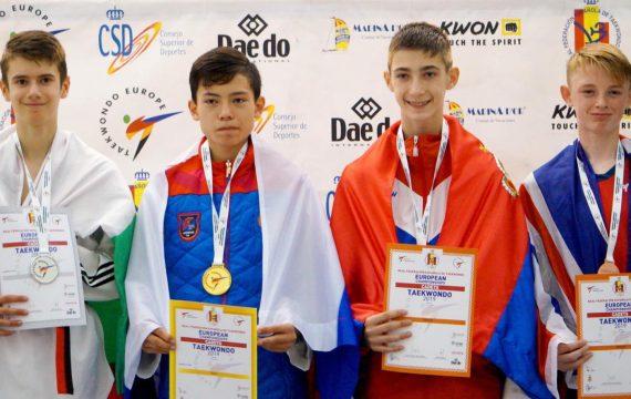 България с още едно сребро на Европейското по Таекуон-до
