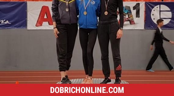 Мира Николова достигна до бронз на 800 метра при девойките – 2020.01.26 – Спортни