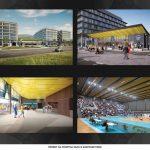 Нова спортна зала за волейбол с 2000 места в Garitage Park
