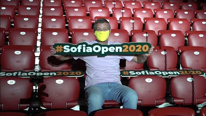 Персонални билети, задължителни маски и мерене на температура на Sofia Open
