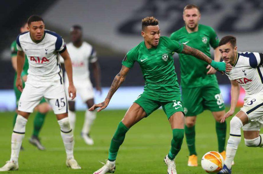 Тотнъм сложи край на мечтите на Лудогорец в Лига Европа