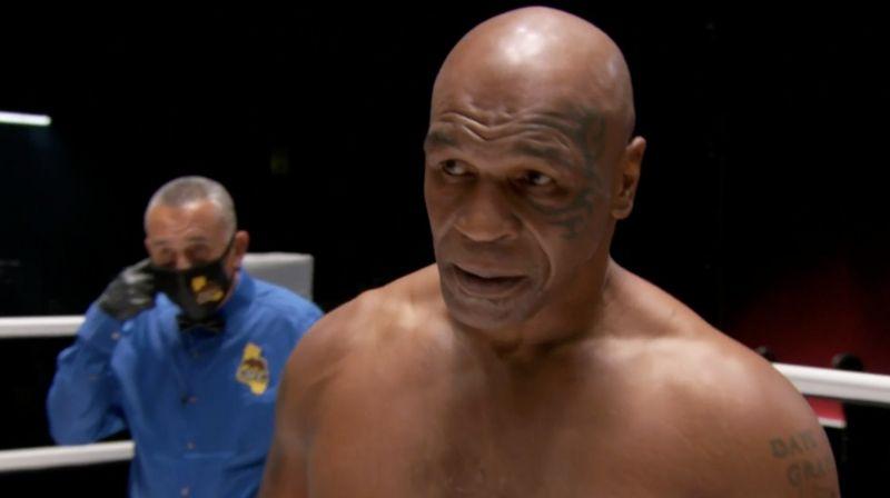 Майк Тайсън се завърна на ринга