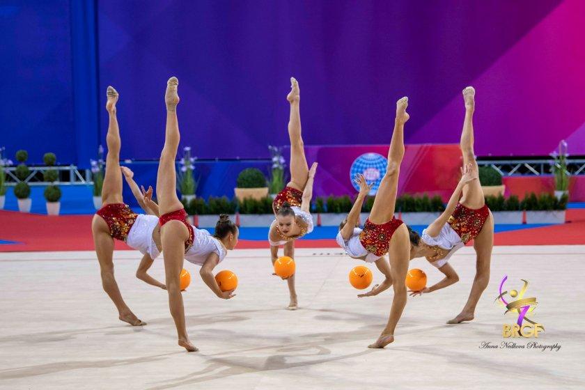 Безапелационна победа в многобоя за Ансамбъла ни по художествена гимнастика в София