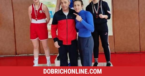 """Млада майка сложи боксовите ръкавици и донесе сребро за БК """"Добруджа"""" – 2021.03.30 – Спортни"""