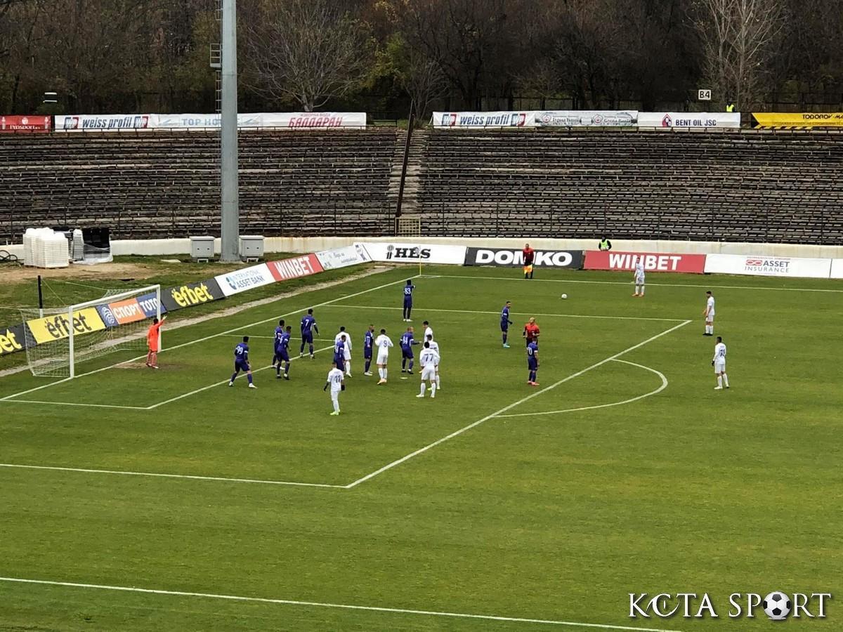 Славия отнесе Етър и го засили към Втора лига (ВИДЕО) | KotaSport
